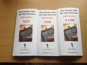 Clue Detective $25 Gift Voucher