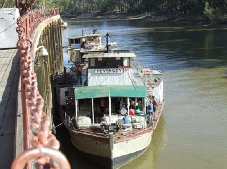 paddle steamers echuca